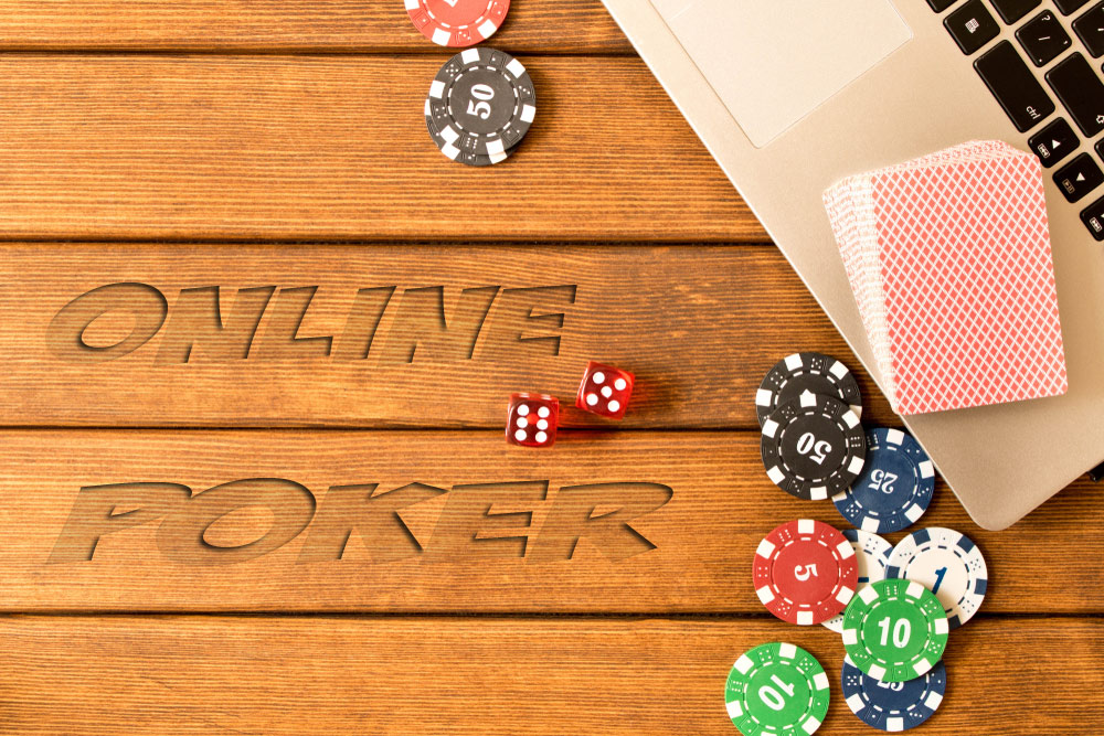 Poker wallpaper abstract